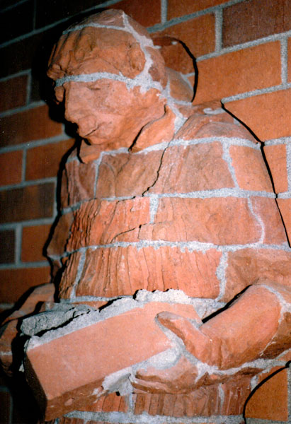 Story of Bricklaying (Detail)